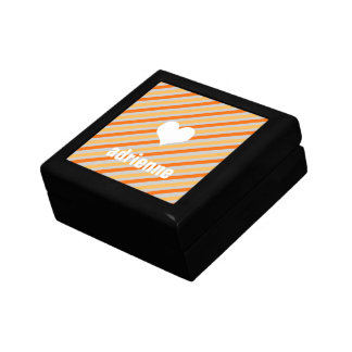 Caja elegante de la baratija del corazón moderno d caja de recuerdo