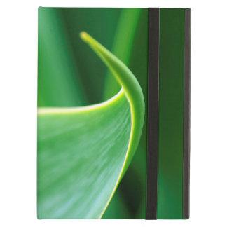 Caja elegante del aire del iPad de la hoja