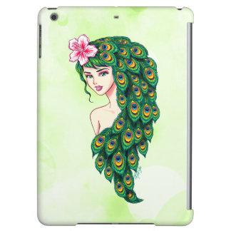 Caja elegante del aire del iPad del arte de la