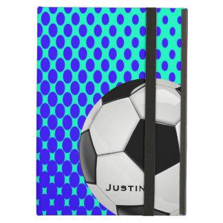 Caja elegante del aire del iPad del fútbol