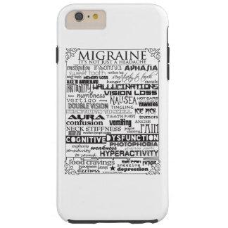 Caja elegante del teléfono de los síntomas de la funda resistente iPhone 6 plus