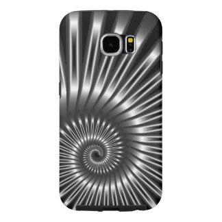 Caja elegante para la cáscara del metal de Samsung Funda Samsung Galaxy S6