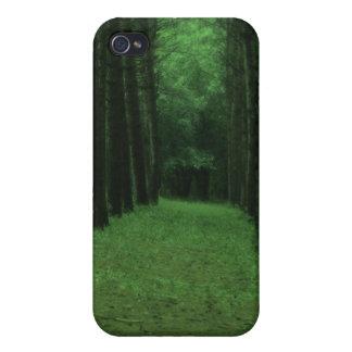 Caja encantada del iPhone 4/4S del bosque iPhone 4 Cárcasas