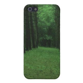Caja encantada del iPhone 5 del bosque iPhone 5 Cárcasa
