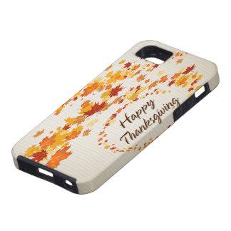Caja feliz de la casamata de la acción de gracias  iPhone 5 Case-Mate protectores