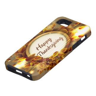 Caja feliz de la mota de la acción de gracias iPhone 5 Case-Mate protector