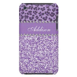 Caja femenina del brillo del diamante artificial p iPod touch Case-Mate carcasa