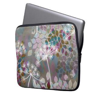 Caja floral caprichosa del neopreno de la diversió manga portátil