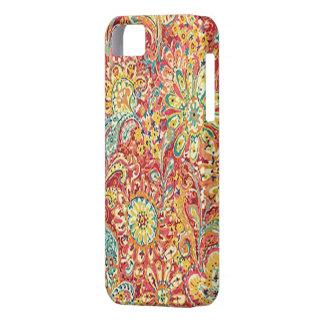 Caja floral colorida del iPhone 5G iPhone 5 Case-Mate Carcasas