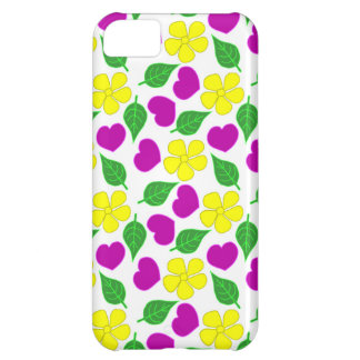Caja floral del teléfono funda iPhone 5C