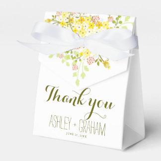 Caja floral personalizada gloria del favor del