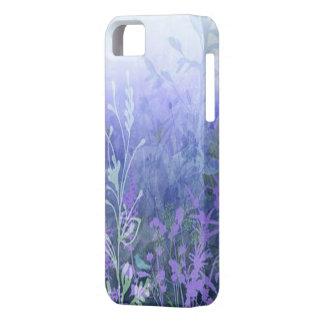 Caja floral púrpura del iPhone 5G iPhone 5 Case-Mate Carcasas