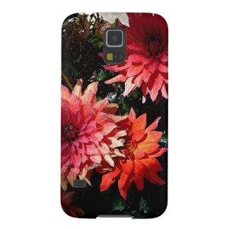 Caja floral rosada bonita del teléfono de Samsung Funda Galaxy S5