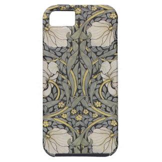 Caja floral verde y negra de William Morris del Funda Para iPhone SE/5/5s