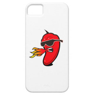 Caja fría roja funda para iPhone SE/5/5s
