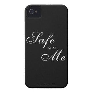 Caja fuerte a ser yo caso carcasa para iPhone 4 de Case-Mate