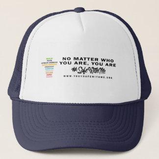 Caja fuerte conmigo gorra cruzado del camionero