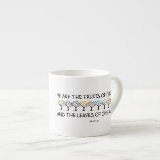 Caja fuerte conmigo taza del café express del