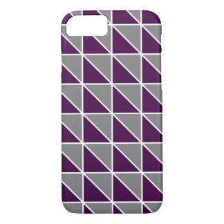 Caja geométrica del teléfono de los triángulos funda iPhone 7