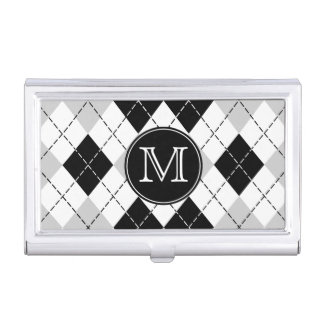 Caja gris blanca negra de Argyle Businesscard del