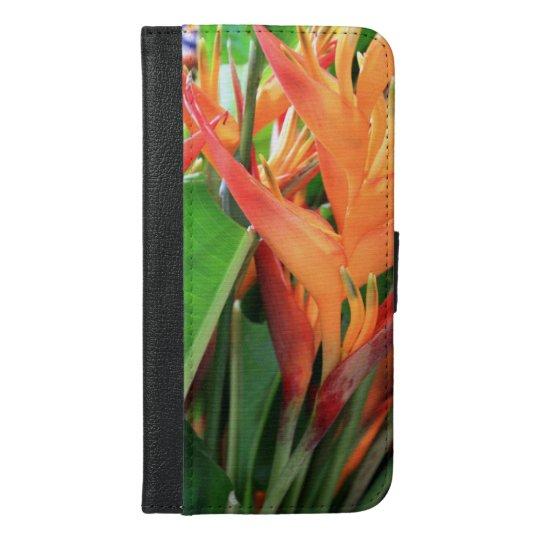 Caja hawaiana de la cartera del iPhone 6/6/S del