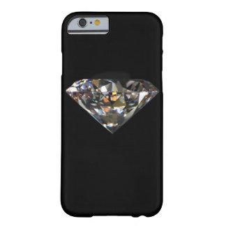 Caja impresa solitario del iPhone 6 del diamante Funda De iPhone 6 Barely There