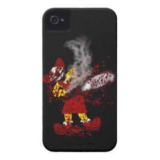 Caja intrépida psica de Blackberry Case-Mate iPhone 4 Carcasa