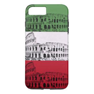 Caja italiana del teléfono de la bandera de Roma Funda Para iPhone 8 Plus/7 Plus