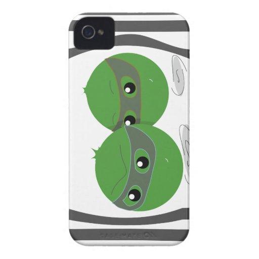 Caja ligera del iPhone 4/4s de Escapeas iPhone 4 Protectores
