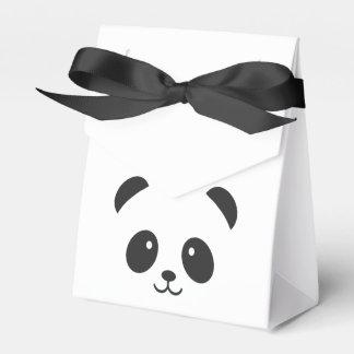 Caja linda y mimosa del favor de la panda