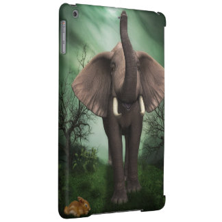 Caja maravillosa del aire del iPad