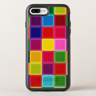 Caja más coloreada multi del iPhone 7 del Otterbox Funda OtterBox Symmetry Para iPhone 7 Plus