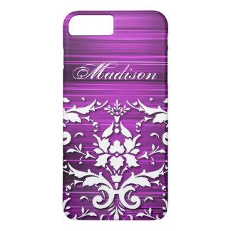 Caja más personalizada del iPhone 6 púrpuras Funda iPhone 7 Plus