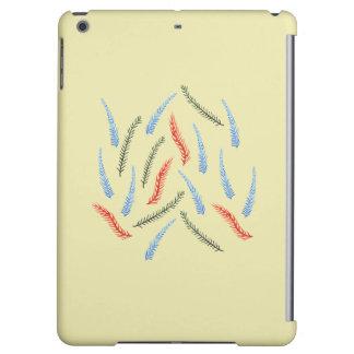 Caja mate del aire del iPad de las ramas
