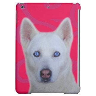 Caja mate lista del aire del iPad del husky