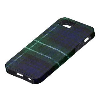 caja moderna del tartán de Abercrombie del iPhone  iPhone 5 Coberturas