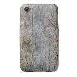 Caja móvil #3 del teléfono celular de madera cruda Case-Mate iPhone 3 cárcasas