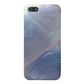 Caja nacarada oscura del iPhone del modelo iPhone 5 Carcasa