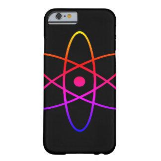Caja negra atómica del teléfono funda barely there iPhone 6