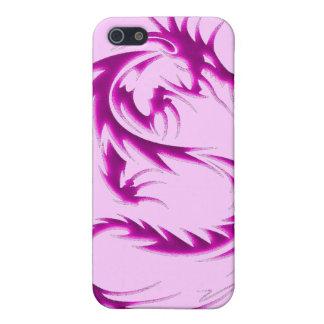 Caja negra de iPod del dragón iPhone 5 Fundas