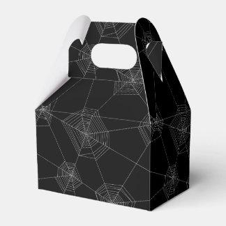 Caja negra del favor de los Web de araña