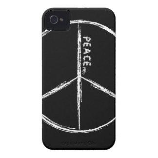 Caja negra del iPhone 4 de la paz iPhone 4 Protectores
