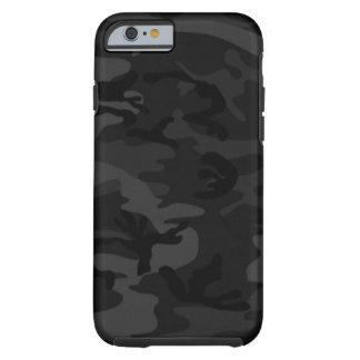 Caja negra del iPhone 6 de Camo Funda Para iPhone 6 Tough