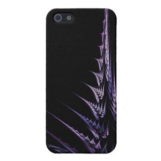 Caja negra púrpura del iPhone del modelo del iPhone 5 Protector