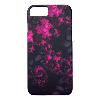 Caja negra rosada magnífica del iPhone 7 del Funda iPhone 7