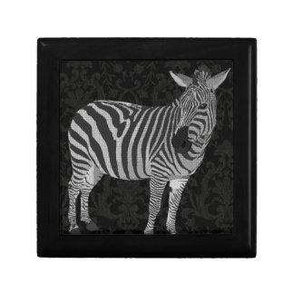 Caja negra y blanca de Zeb Cajas De Regalo
