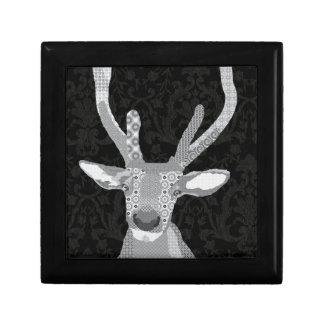 Caja negra y blanca del compinche caja de recuerdo