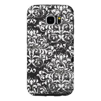 Caja ornamental apenada de la galaxia de Samsung Fundas Samsung Galaxy S6