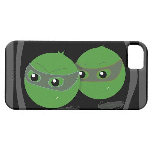 Caja oscura del iPhone 5 de Escapeas iPhone 5 Case-Mate Fundas