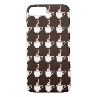 Caja oscura del iPhone 7 del café Funda iPhone 7